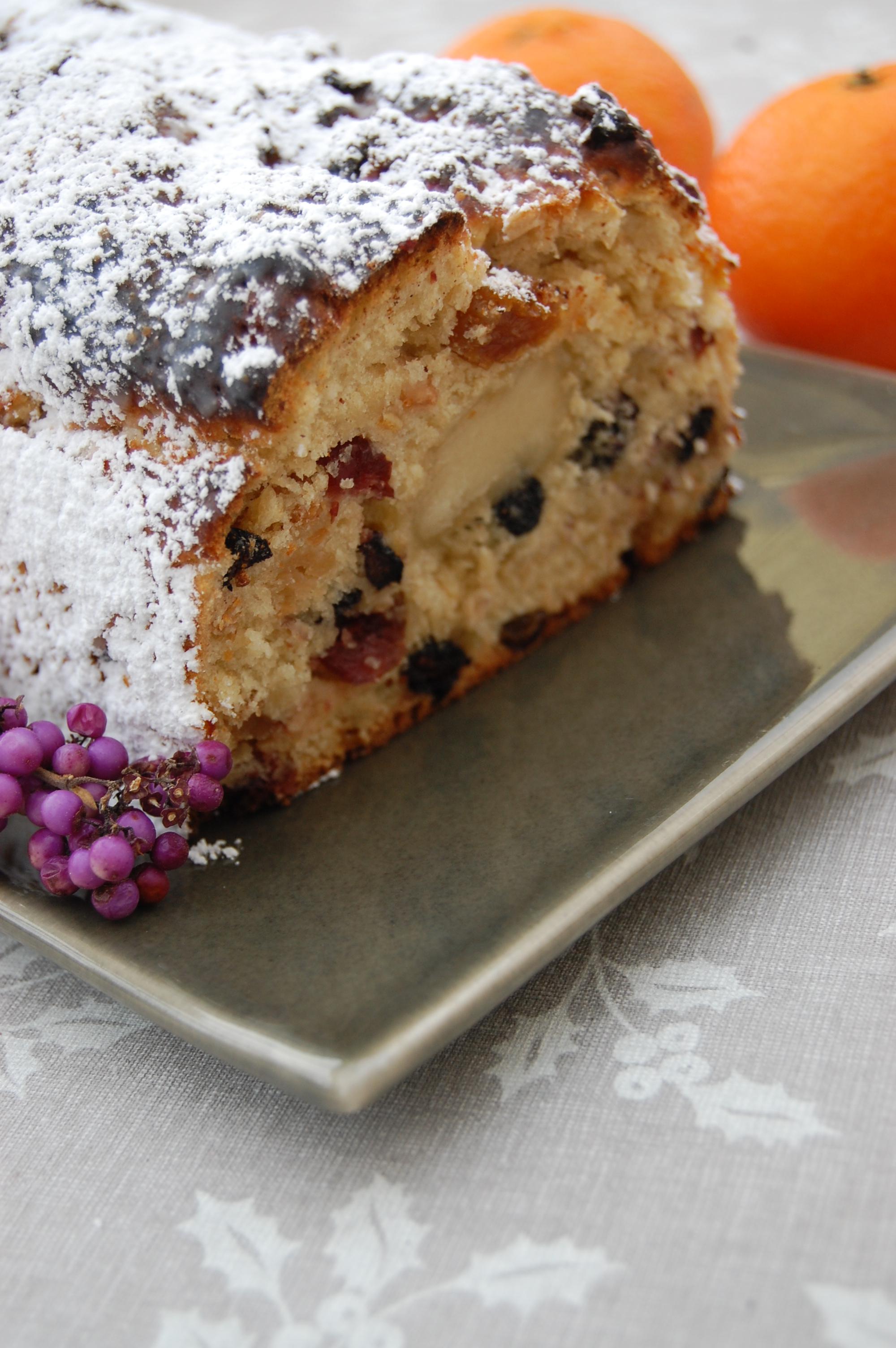 Gateau alsacien fruits secs les recettes populaires blogue le blog des g teaux - Gateau de noel alsacien stollen ...